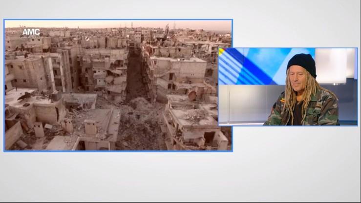 Malejonek: w Aleppo błagają, żeby wstrząsnąć sumieniem świata