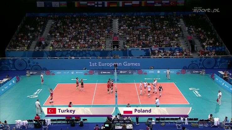 Turcja - Polska 3:0. Skrót finału