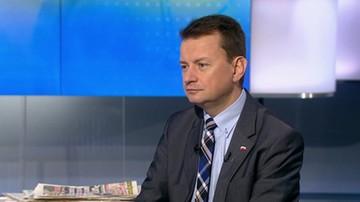 Błaszczak w Polsat News