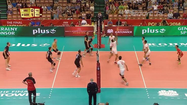 Iran - Niemcy 0:3. Skrót meczu
