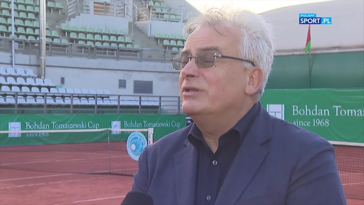 Hertel: Tomaszewski Cup jest bramą do profesjonalnego tenisa