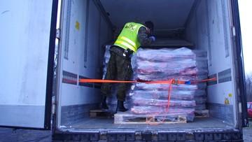 Kołobrzeg: 20 ton mięsa z reniferów w skradzionej naczepie