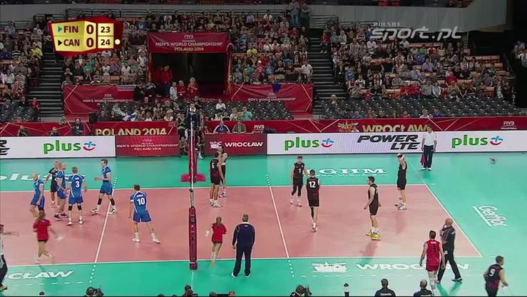 Finlandia - Kanada 0:3. Skrót meczu