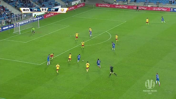 Lech Poznań - Znicz Pruszków 1:0. Skrót meczu