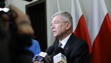 18-12-2017 05:35 Karczewski: nie jest pewne, czy rekonstrukcja rządu będzie w styczniu