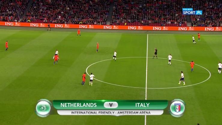 Holandia - Włochy 1:2. Skrót meczu