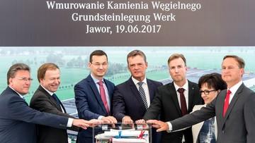 19-06-2017 17:02 Mercedes-Benz z Jawora. Niemiecki koncern Daimler AG buduje koło Wrocławia fabrykę silników