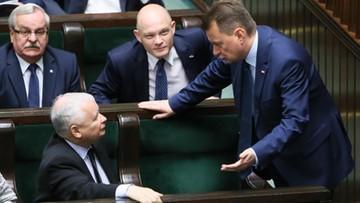 """05-07-2017 10:50 Kaczyński stanął w obronie Błaszczaka. """"To jeden z najlepszych ministrów rządu"""""""