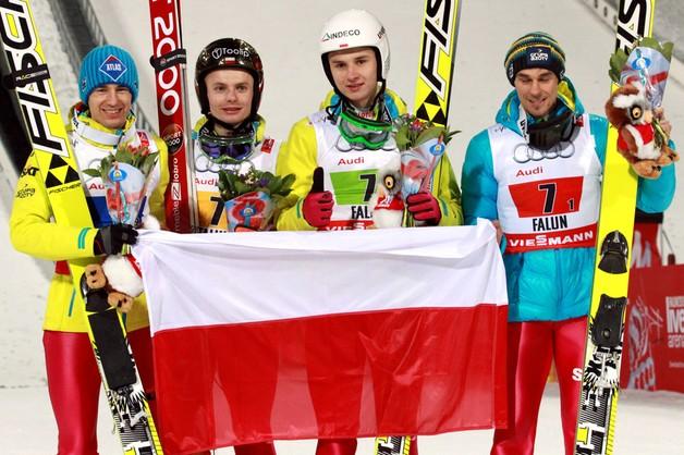 Brąz dla polskich skoczków