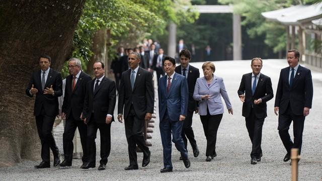 Rozpoczął się szczyt G7 w Japonii
