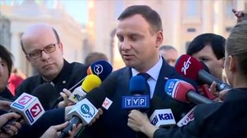 Prezydent Duda nie wiedział o szczycie na Malcie