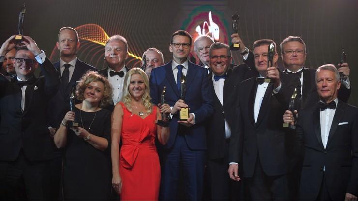 """Premier Mateusz Morawiecki laureatem Super Wektora 2017. """"Cel biznesu i cel naszej ekipy politycznej jest jeden"""""""
