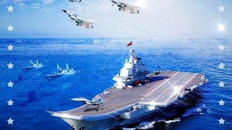 Wizerunkowa wpadka z plakatem na święto chińskiej marynarki wojennej
