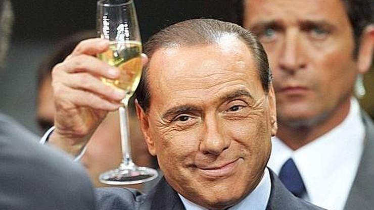 70 tys. euro za obiad z Berlusconim. To prezent dla babci