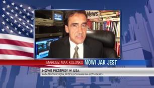 Mariusz Max Kolonko - Pasażerowie lecący do USA będą przesłuchiwani na lotniskach