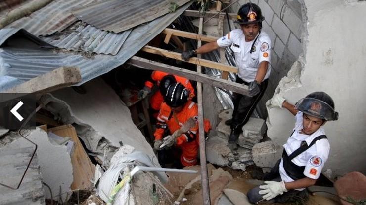Już niemal 200 ofiar lawiny błotnej w Gwatemali