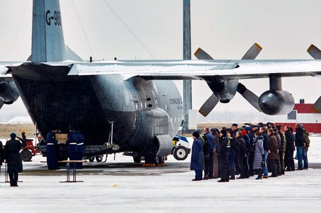 Do Holandii odleciał samolot ze szczątkami ofiar katastrofy Boeinga