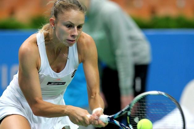 WTA w Katowicach - Magda Linette i Alize Cornet w półfinale debla