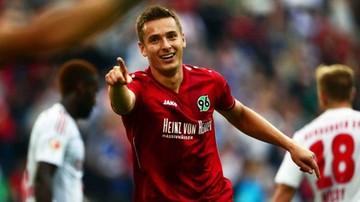 2015-11-21 Sobiech z golem, Hannover 96 z porażką