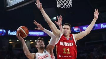 2017-09-10 EuroBasket 2017: Rosjanie pokonali Chorwatów i zagrają w ćwierćfinale