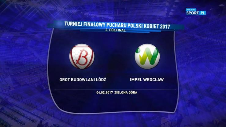 Grot Budowlani Łódź - Impel Wrocław 3:2. Skrót meczu