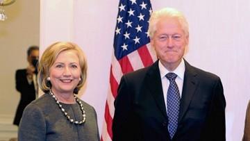 04-01-2017 08:08 Clintonowie i Bushowie zapowiedzieli udział w inauguracji Trumpa