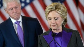 13-11-2016 10:53 Media: Clinton obwinia szefa FBI za swoją przegraną w wyborach