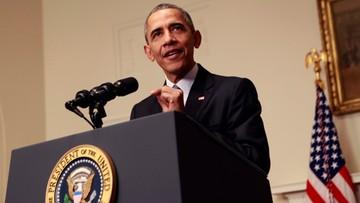 """13-12-2015 05:26 Obama chwali porozumienie klimatyczne. """"Największa szansa, by ocalić świat"""""""