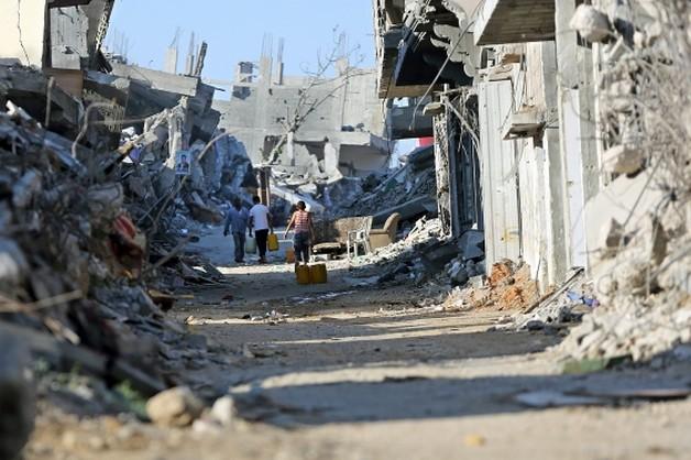 Arabia Saudyjska odbuduje Strefę Gazy