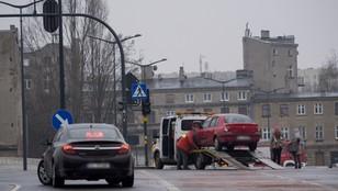 Łódź: karambol na 24 auta; do tego ponad 40 kolizji