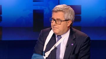 """05-03-2017 20:34 """"Długa i ciekawa"""". Czarnecki o rozmowie Kaczyńskiego z Saryusz-Wolskim"""