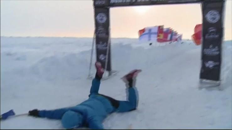 Maraton w ponad 4 godziny to zły wynik? Na pewno nie na lodzie i śniegu!