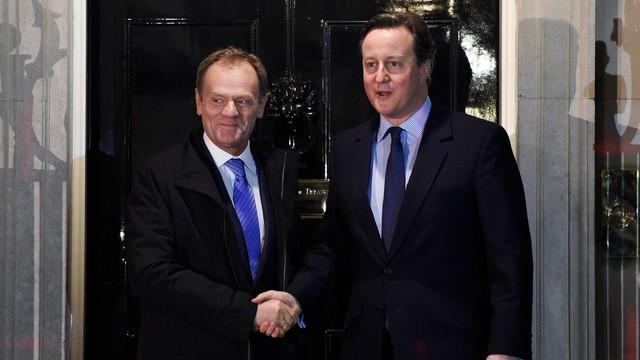 Tusk: projekt porozumienia z W. Brytanią dobrą podstawą do kompromisu