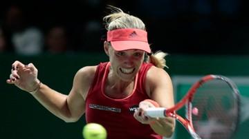 2015-10-26 WTA Finals: Kerber lepsza od Kvitovej w pojedynku leworęcznych