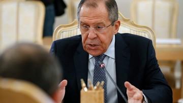 Szef MSZ Rosji odwołuje wizytę w Turcji