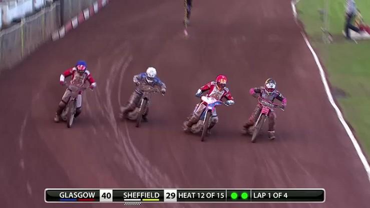Speedway'owa kraksa przyczyną bójki!