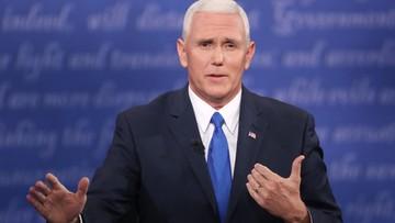 05-10-2016 20:57 Republikański kandydat na wiceprezydenta wygrał w debacie. Ale miał inne poglądy niż Trump