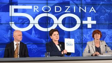 13-07-2016 12:41 Ponad 2,6 mln wniosków w ramach programu 500+. Do rodzin trafiło prawie 5 mld zł
