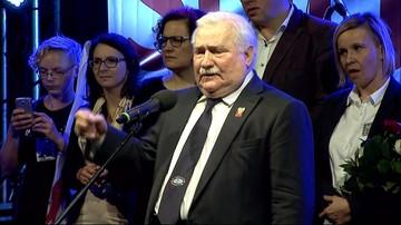 31-08-2017 21:05 Lech Wałęsa: nie może być tak, że jak kogoś wybieramy, to on ma  prawo do wszystkiego