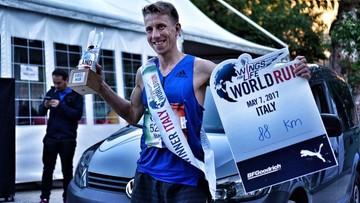 """09-05-2017 19:41 Nasz kolega drugi na świecie w biegu """"Wings for Life World Run 2017"""""""