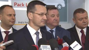 """05-10-2016 13:25 """"Nie sądzę, by groziły nam kary"""" – Morawiecki o zamknięciu negocjacji ws. Caracali"""