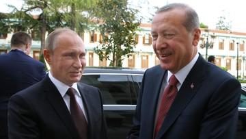 10-10-2016 19:15 Putin i Erdogan porozumieli się ws. budowy Turkish Stream