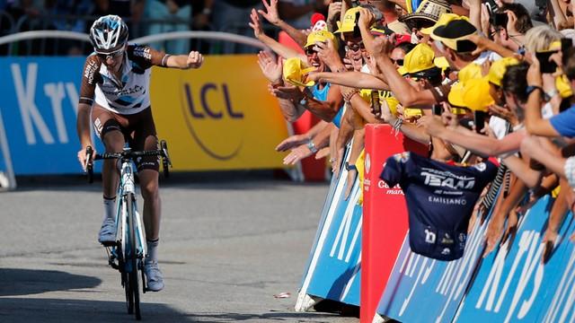Tour de France. Bardet wygrał etap, liderem wciąż Froome