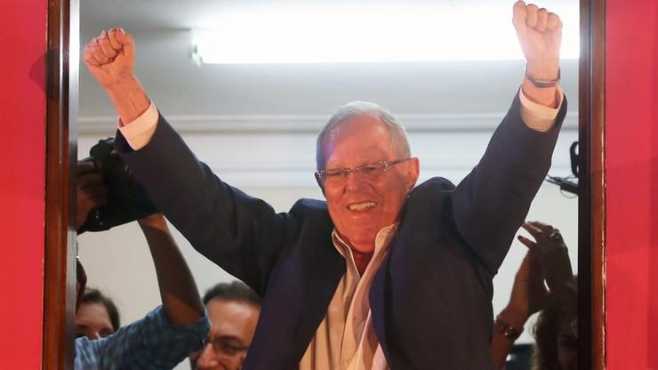 Wybory prezydenckie w Peru. Nieznaczna przewaga Kuczynskiego
