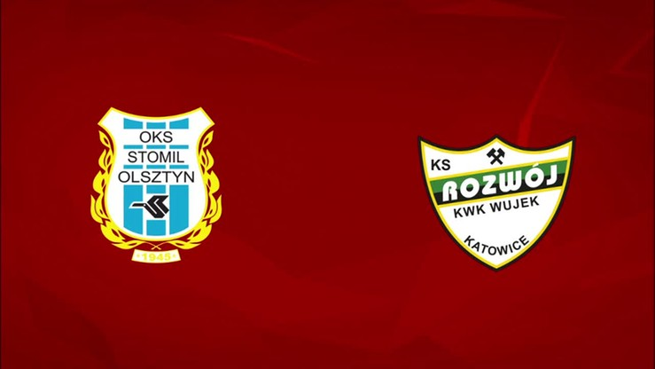 2015-08-24 Stomil Olsztyn - Rozwój Katowice 2:1. Skrót meczu