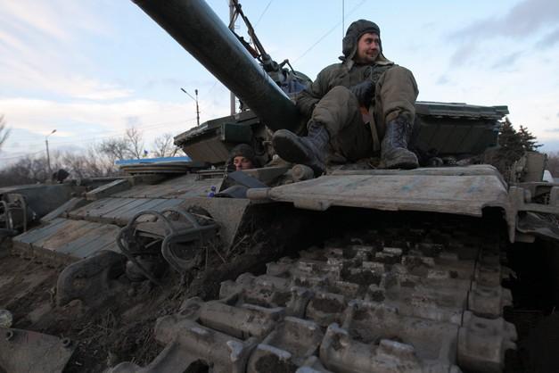 Żołnierze z USA szkolą ukraińskich wojskowych