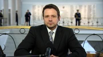 Trzaskowski: graliśmy w 1. lidze, a jesteśmy europejskim problemem
