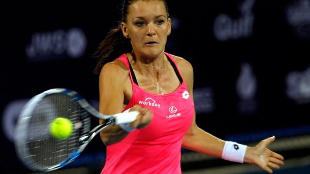 Turniej WTA w Dausze: Agnieszka Radwańska awansowała do ćwierćfinału