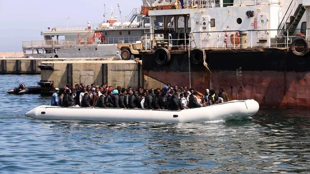 U wybrzeży Libii uratowano prawie 3,5 tysiąca imigrantów