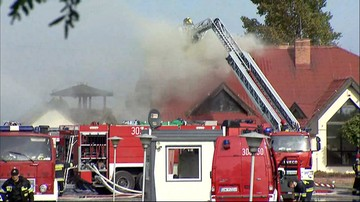 14-10-2016 14:31 Pożar w fabryce zapalniczek pod Wrocławiem. Ranne dwie osoby